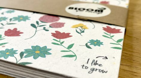 Plantable notebooks